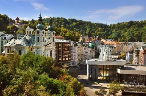 Infocentrum města  Karlovy Vary - Lázeňská