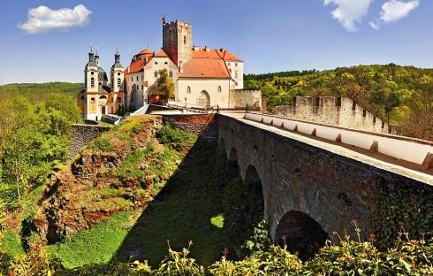 Zámek Vranov nad Dyjí - Občerstvení  U zámku