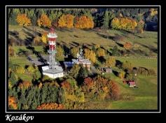 Magnetka - Kozákov, nejvyšší hora Českého ráje 744 m n. m