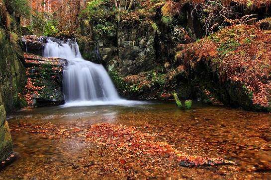 Rešovský vodopád II