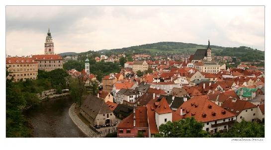 Český Krumlov - panorama