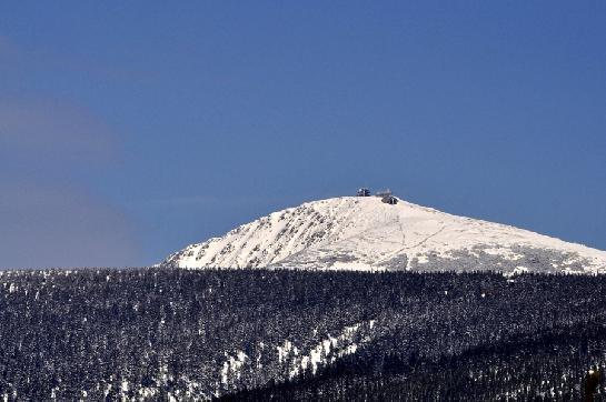Sněžka 1602m n.m.