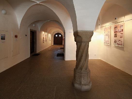 Čast interieru radnice v Telči
