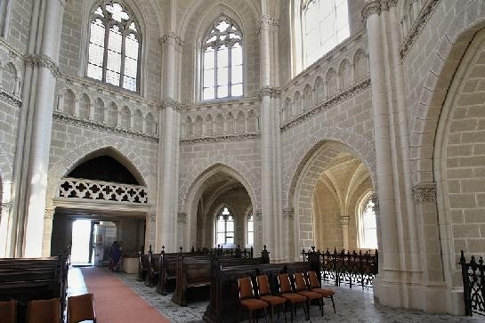 Interier kaple ve Schwarzenberkově hrobc