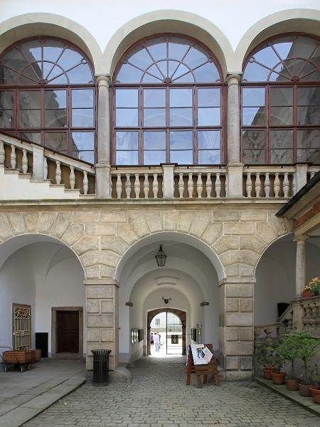 Třeboň - v arealu zámku