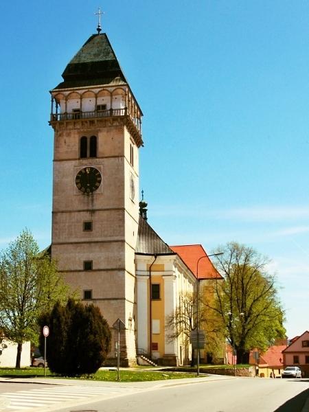Kostel sv. Vavřince v Dačicích