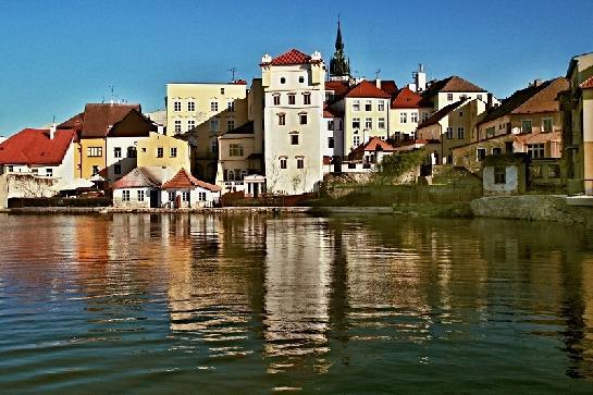 Jindřichův Hradec od Vajgaru