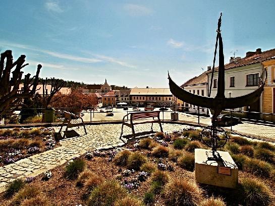 Palackého náměstí v Dačicích