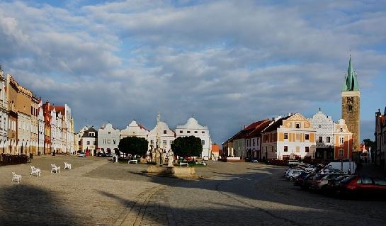 Telč náměstí