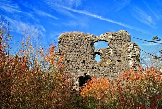 Zřícenina hradu Ronov u Blíževedel