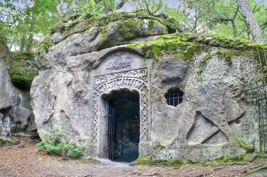 Kokořínsko - Čertovy hlavy a jeskyně Klácelka