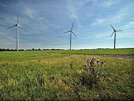 Větrné elektrárny v Krušných horách