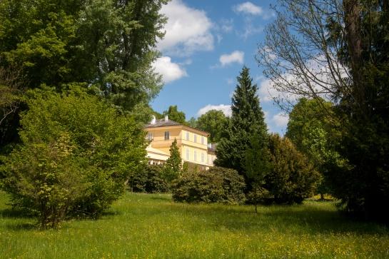 Chudenice zámek Lázeň sv. Wolfganga a Americká zahrada