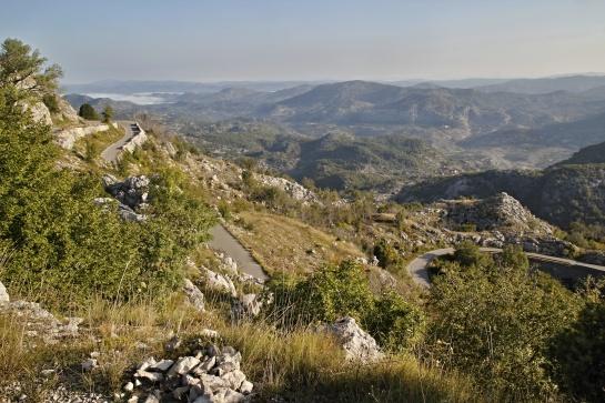 Nádherná krajina v Njeguši - Černá Hora