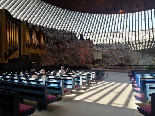 Skalní kostel Temppeliaukio