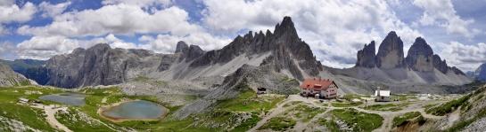 Dolomity, Rifugio Locatelli - Tre Cime Di Lavaredo