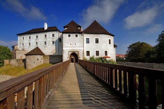 Nové Hrady gotický hrad