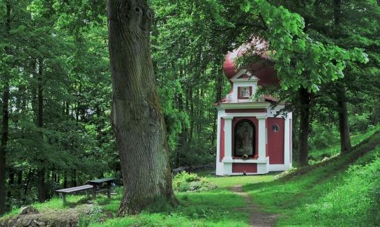Kaple Panny Marie Klokotské   -   Dobrá voda
