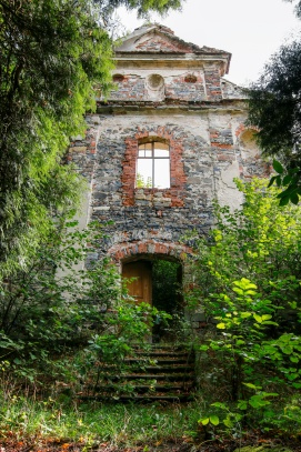 Ruiny kostela Svatého Havla - Bílý Kostelec