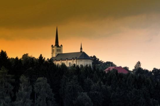 kostel sv. Václava - Výsluní