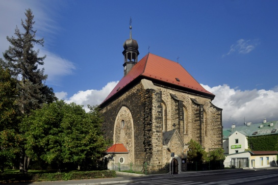 kostel sv. Barbory - Chomutov