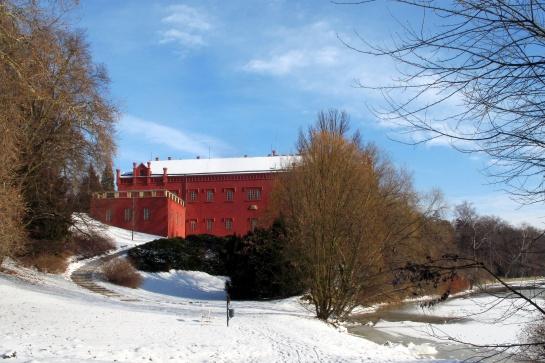 Zámek v Klášterci nad Ohří - zima 1