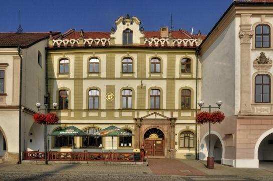 Gotický dům u Slunce - Kadaň