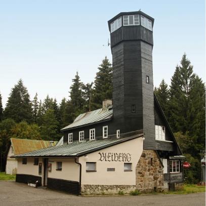 Bleiberg - olověný vrch v Krušných horách