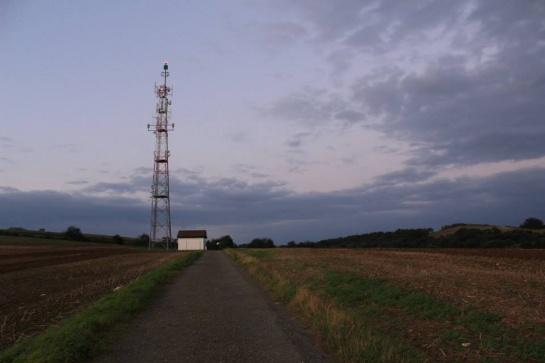 vysílač nad Krnovem