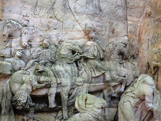 Braunův Betlém - Příchod tří králů a klanění pastýřů