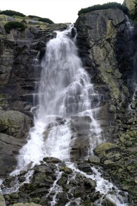 Vysoké Tatry, Vodopád Skok