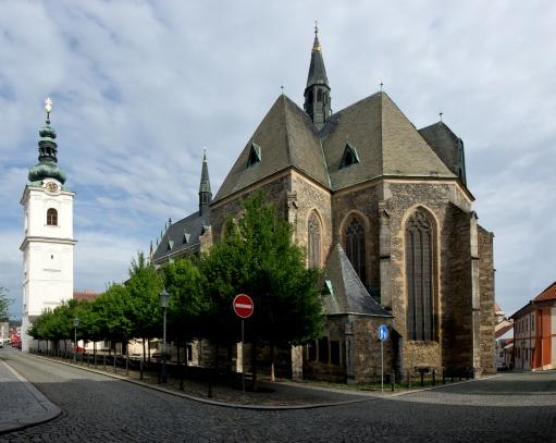 Klatovy kostel Narození Panny Marie