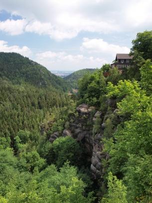 Hrad a klášter Oybin