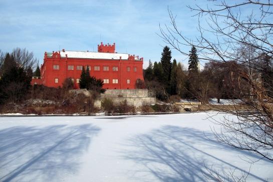 Zámek v Klášterci nad Ohří - zima 5
