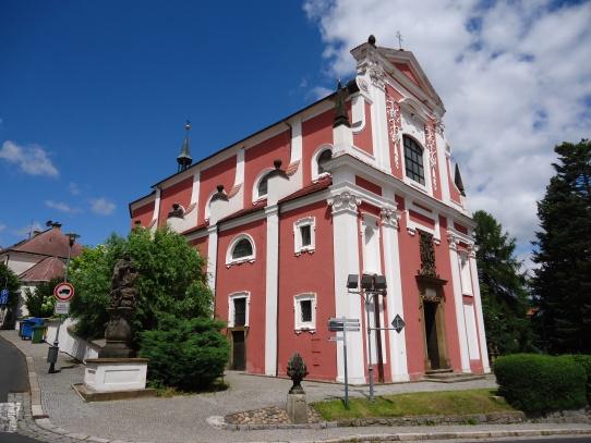 Klášterec nad Ohří - kostel