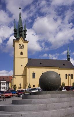 Příbram - kostel sv. Jakuba
