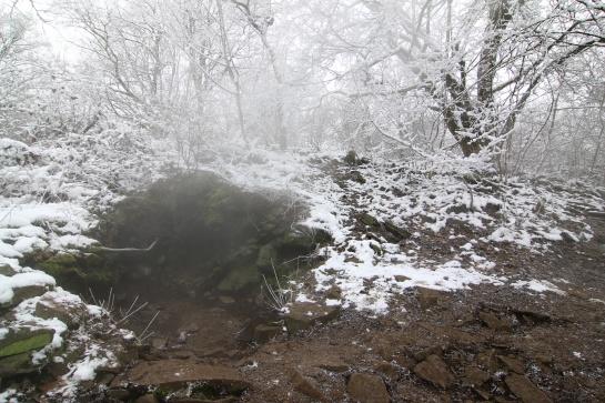 Boreč - kopec ze kterého se kouří