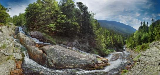 Dolní Úpský vodopád