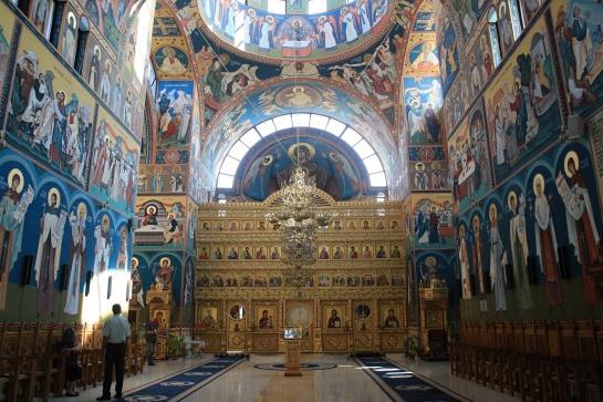 Interier pravoslavného kostela