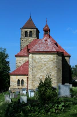Kostel nanebevzetí Panny Marie, Vyskeř