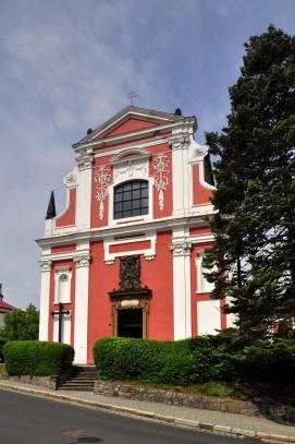 kostel Nejsvětější Trojice - Klášterec nad Ohří