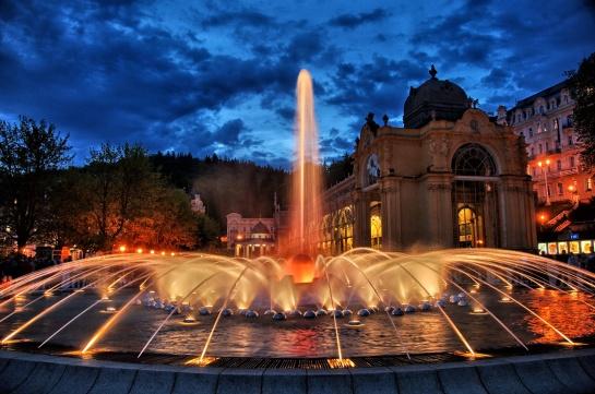 Mariánské Lázně Kouzelná zpívající fontána