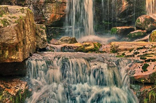 Jizerské hory - Vodopády Jedlová
