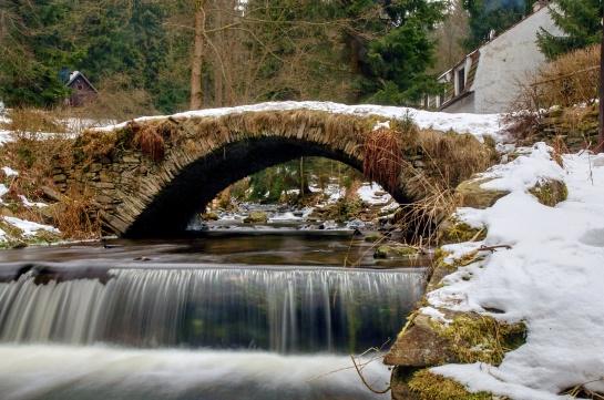 Historický most - Úbočí