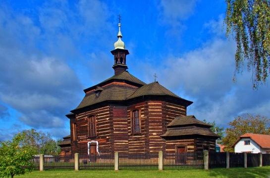 Kostel sv. Jiří ve Smidarech - Loučné Hoře