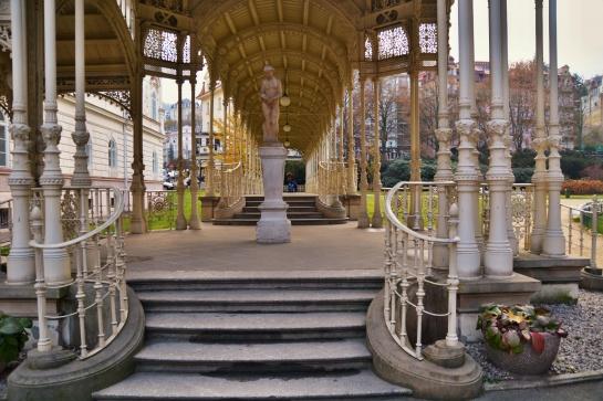 Karlovy Vary Sadová kolonáda
