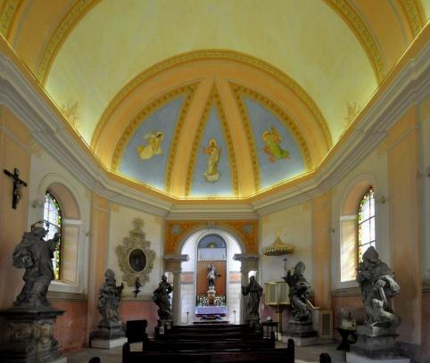Poutní kaple sv. Jana Nepomuckého - Valdštejn