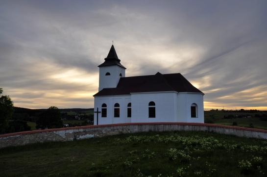 kostel sv. Václava - Kalek