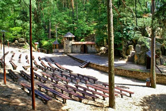 Lesní divadlo Sloup