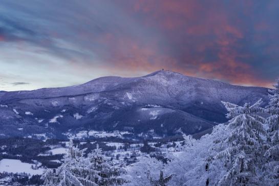 Lysa hora v zimě